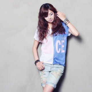 Buy Nalan Girl Color Blocked T-Shirt 1023007101