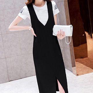 set-short-sleeve-t-shirt-sleeveless-dress