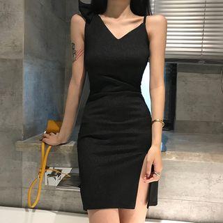 Sleeveless | Dress | Slit