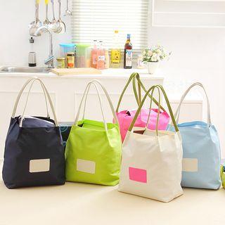 Image of Canvas Bucket Insulate Shopper Bag