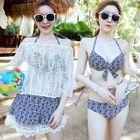 Set: Top + Bikini + Swim Shorts 1596
