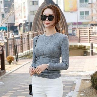 Slim-Fit Ribbed T-Shirt 1064335695