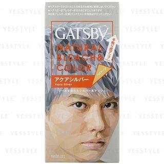 Mandom - Gatsby Natural Bleach & Color (Aqua Silver) 1 set 1053898803