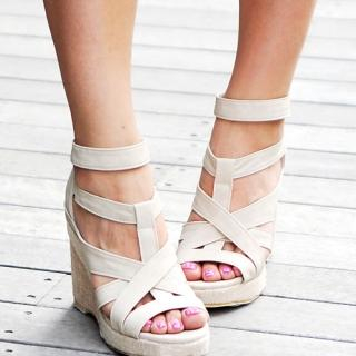 Buy Miss Hong Strappy Platform Sandals 1022862661