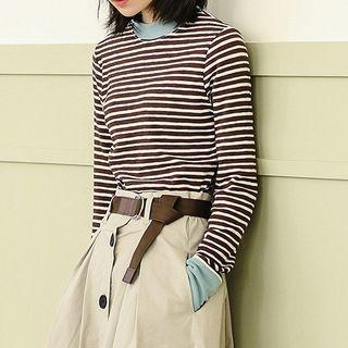 Striped Long Sleeve T-Shirt 1064478471