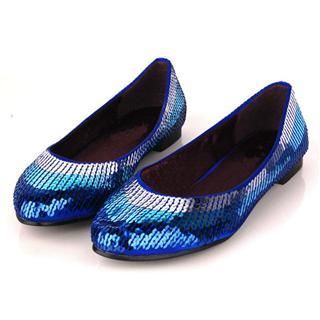 Buy Cocoeve Sequinned Flats 1022566811