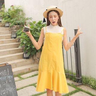 Spaghetti-Strap A-Line Jumper Dress 1050791487