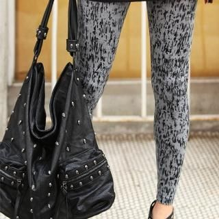 Picture of REDOPIN Washed Leggings 1022526320 (REDOPIN Pants, South Korea Pants)