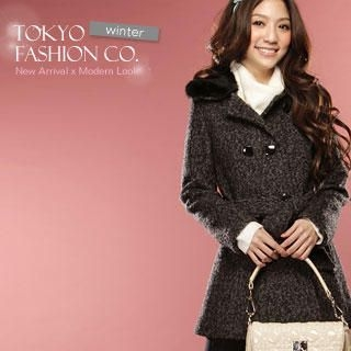 Buy Tokyo Fashion Double-Breast Coat 1022156605