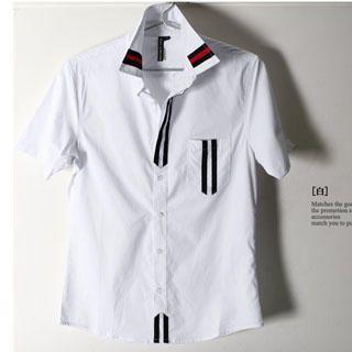 Buy SERUSH Striped Shirt 1022544844