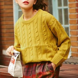 Rib Knit Sweater 1057179019