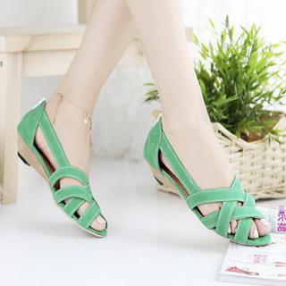 Buy KAWO Cross-Strap Sandals 1022897935