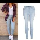 Washed Skinny Jeans 1596
