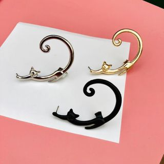 Image of Alloy Cat Earring