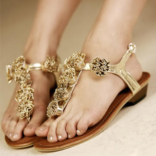 ef28b6c40f00 Kvoll Flower Thong Sandals 1022991367