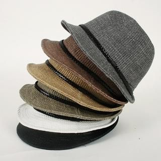 Picture of Groove9 Fedora Hat 1023001749 (Groove9, Mens Hats & Scarves, Korea)