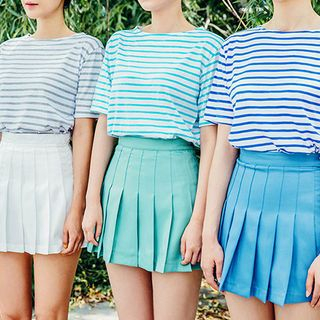 Stripe Colored T-Shirt 1050799404