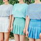 Stripe Colored T-Shirt 1596