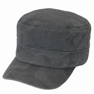 Buy GRACE Pinstriped Casquette Charcoal Gray – One Size 1022173402