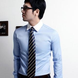 Buy MITOSHOP Contrast Collar Shirt 1022253453