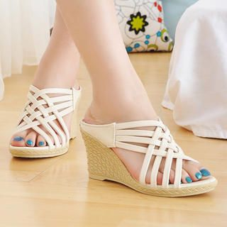 Buy KAWO Cross-Strap Wedges 1022917287