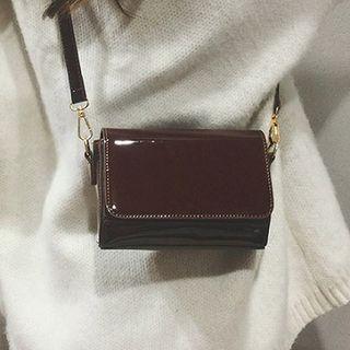 Plain Glitter Crossbody Bag