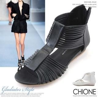 Picture of Chione T-Strap Sandals 1022539364 (Sandals, Chione Shoes, Korea Shoes, Womens Shoes, Womens Sandals)