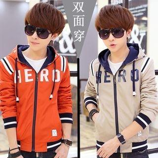 Drawstring Hooded Jacket 1058322549
