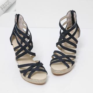 Buy Mango Ribbon Strappy Sandals 1022987715