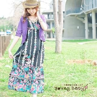 Buy YoungBaby Floral Print Maxi Dress 1022769771