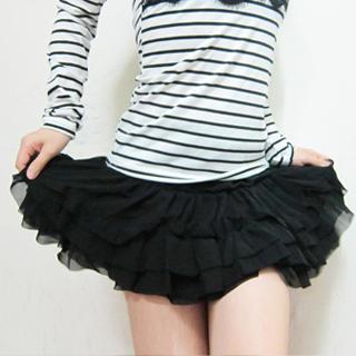 Buy SHY SHY Ruffle Layered Skirt 1022852922