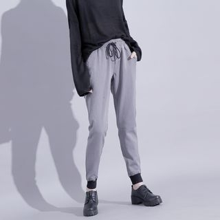 Drawstring-Waist Contrasted Sweatpants 1053846105