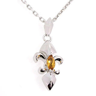 Image For Life Compass Pendant - Citrine