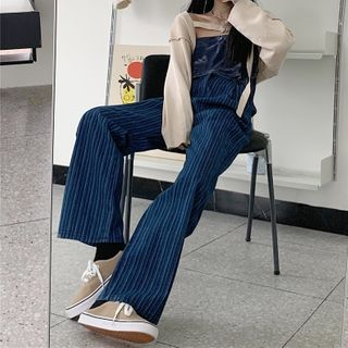 Striped Loose-fit Jeans
