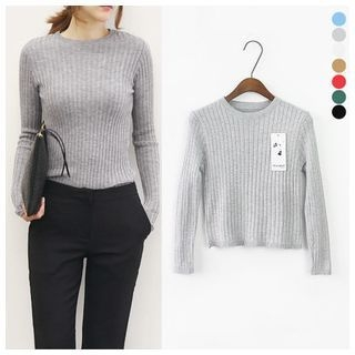 Ribbed Knit Top 1048233140
