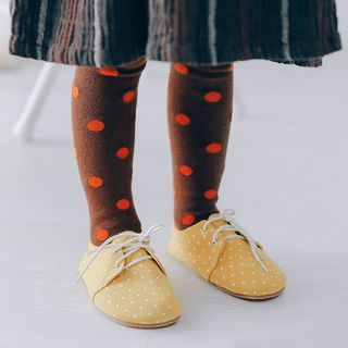 Image of Baby Dotted Tights