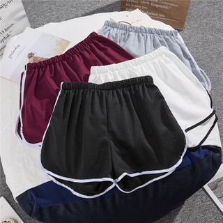 Image of Band-Waist Piper Shorts