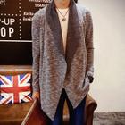 Open Front Knit Jacket 1596