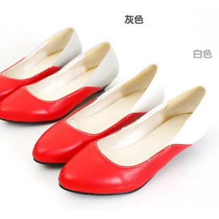Buy KAWO Color-Block Kitten-Heels 1022760550