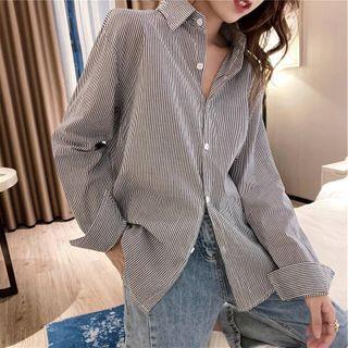 Striped Shirt Stripes - Blue & White - One Size