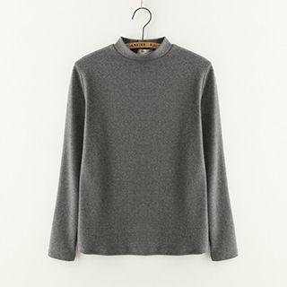 Mock-Neck Long-Sleeve T-Shirt 1047907849