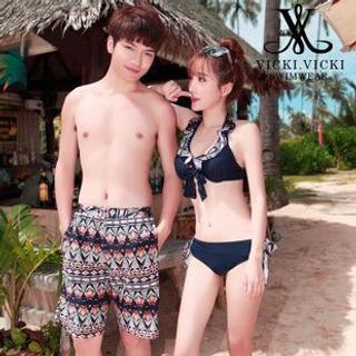 Cover-up | Couple | Bikini | Short | Swim | Set