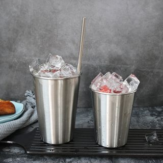 Stainless Steel Cup with Straw 1060405327