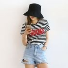 Sequined Striped T-Shirt 1596