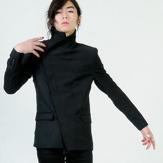 Picture of deepstyle High Neck Blazer 1021362887 (deepstyle, Mens Jackets, Korea)