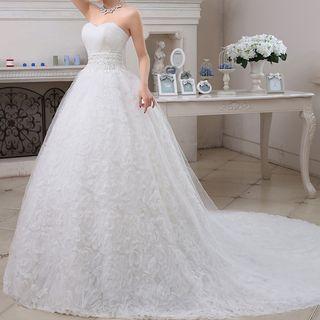 Strapless | Wedding | Dress | Gown | Ball