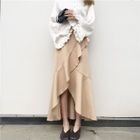 Frilled Maxi Skirt 1596