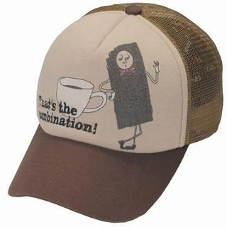Buy GRACE Coffee & Biscuit Trucker Hat Brown – One Size 1022173532