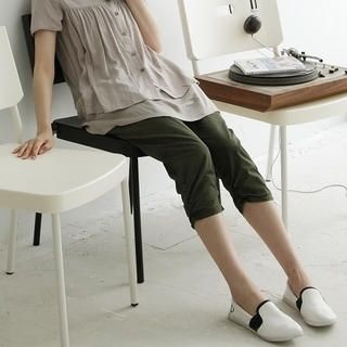 Buy BAIMM Gathered Side Cropped Pants 1023029762