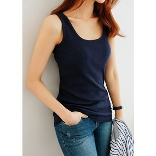 Sleeveless Ribbed Top 1057539200